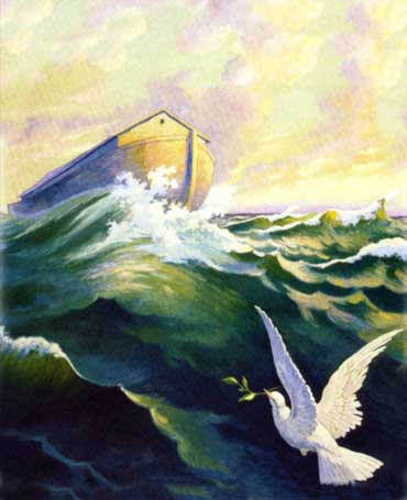 State of no-return; 'the Lord shut (the door of the ark) behind him (Noah)' (Gen. 7:16b)