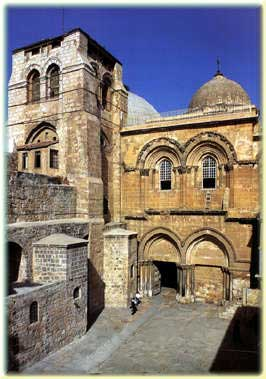 Christian heritage; The church of the Holy Sepulcher in Jerusalem