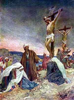 Atonement; Christ's free-will sacrifice for the redemption of the fallen human nature.