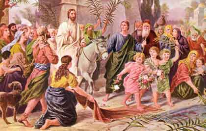 Palm Sunday: portraying the humility and peaceful nature of Jesus