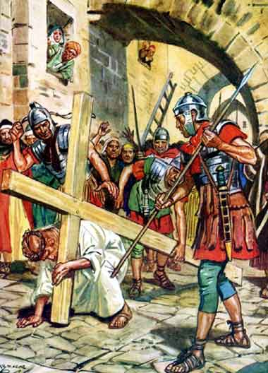 إضطهاد المسيح، وآلامه لأجل خلاص البشر